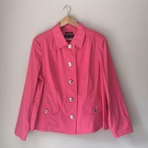 Jones New York Pink Jacket